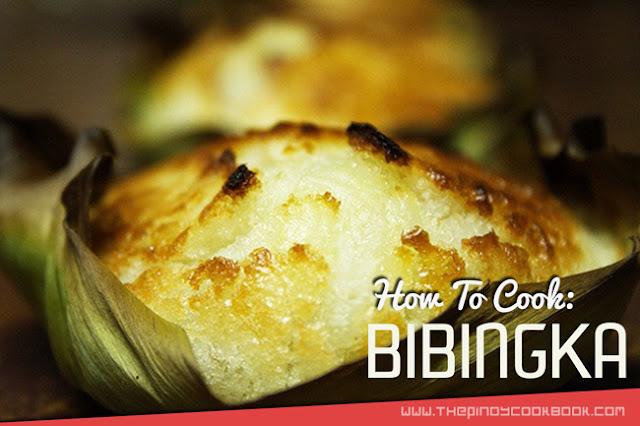 How To Cook Bibingka Recipe Tutorial Home Made Easy Ingredients Flavor What is Videos Pinoy Meryenda Snack Panlasang Pinoy Simple