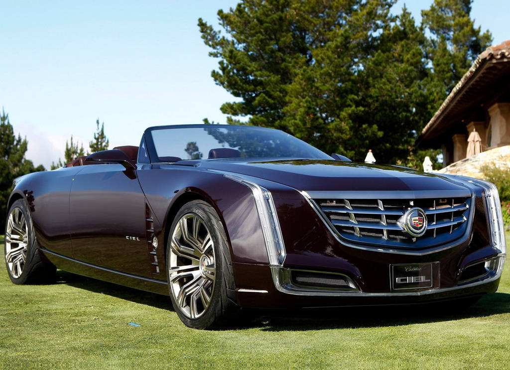 Cadillac Ciel Concept Car Wallpapers 2011