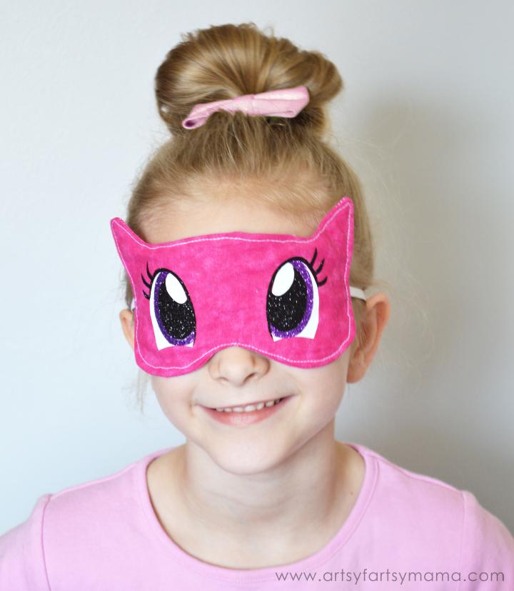 DIY My Little Pony Eye Mask at artsyfartsymama.com