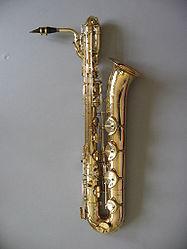 Selmer baritone saxophone image by Sylenius