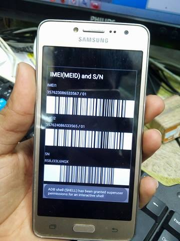 samsung g532g root+cert file with imei repair tolls