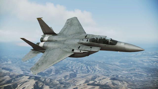 Gambar 01. Foto Pesawat Tempur F-15 Silent Eagle