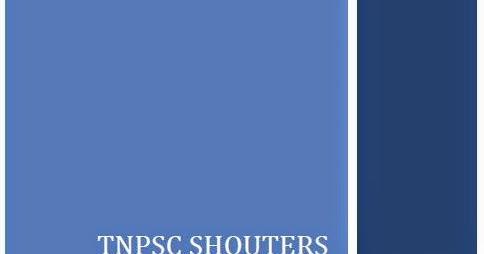 Tnpsc group 4 exam syllabus 2015