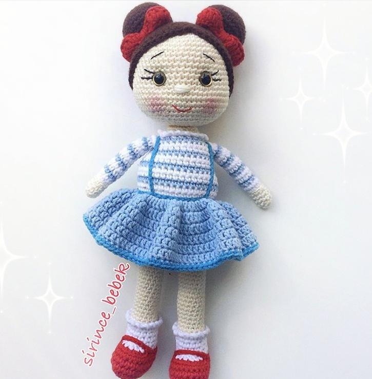 Amigurumi Balerin Bebek Yapılışı- Amigurumi Ballerina Doll Free ... | 740x725