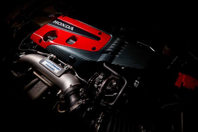 2017 Honda Civic Type R engine