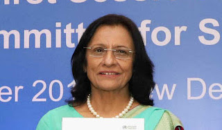Dr Poonam Khetrapal Singh re-elected as Regional Director