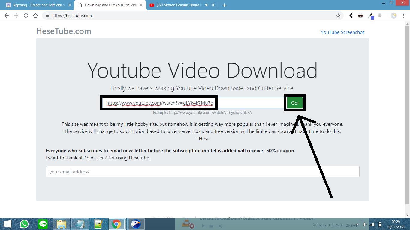 2Cara Memotong Video Youtube Secara Online Mudah