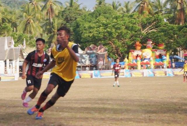 Bupati Cup II 2017, Batangmata FC Vs Kes. Pasimarannu, Imbang 2 : 2