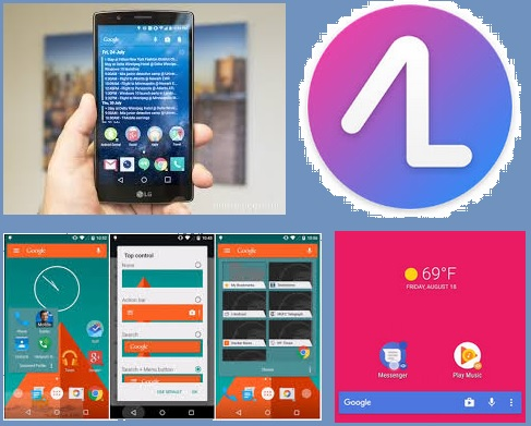 Action Launcher – Pixel + Android O v33.1 Apk Android