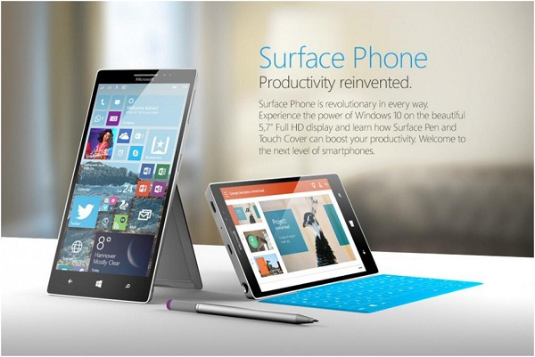 chiec Microsoft Surface Phone