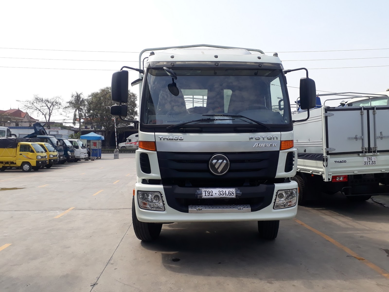 Mua xe tải 3 chân Thaco Auman AC1350  tại Hải Phòng ở đâu?