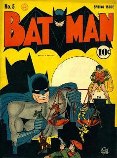 Batman #5 comic cover image