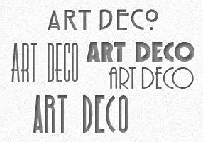 Graphic Identity: 5 Free Art Deco Fonts