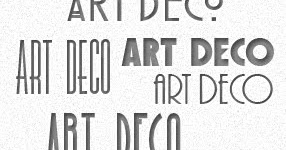 Graphic Identity: 5 Free Art Deco Fonts