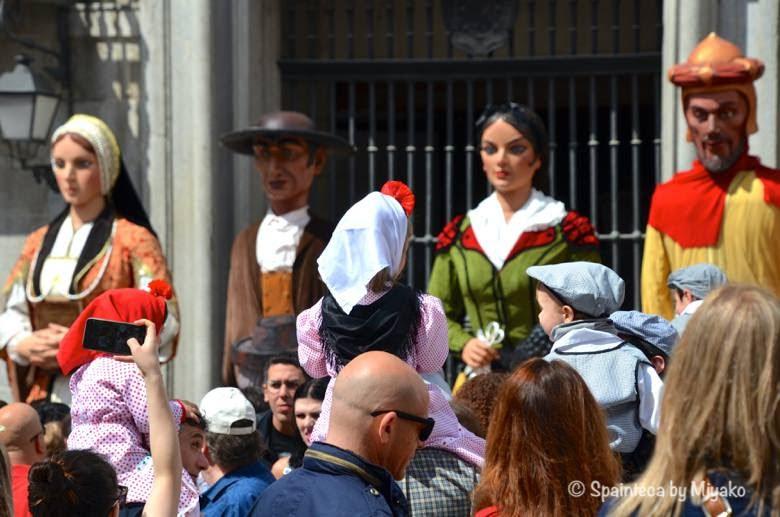 Fiestas de San Isidro en Madrid マドリードのサン·イシドロ祭りと子供達