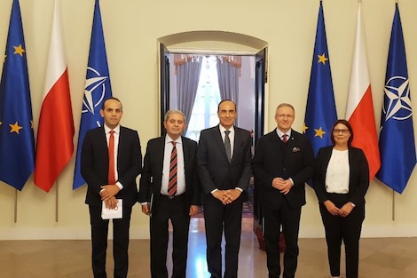 مسؤولو بولونيا يدعمون شراكة المملكة وأوروبا