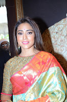 Shriya Saran Looks Stunning in Silk Saree at VRK Silk Showroom Launch Secundrabad ~  Exclusive 112.JPG