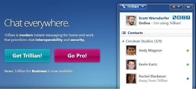 تجميع حسباتك و أيملاتك فى برنامج واحد trillian