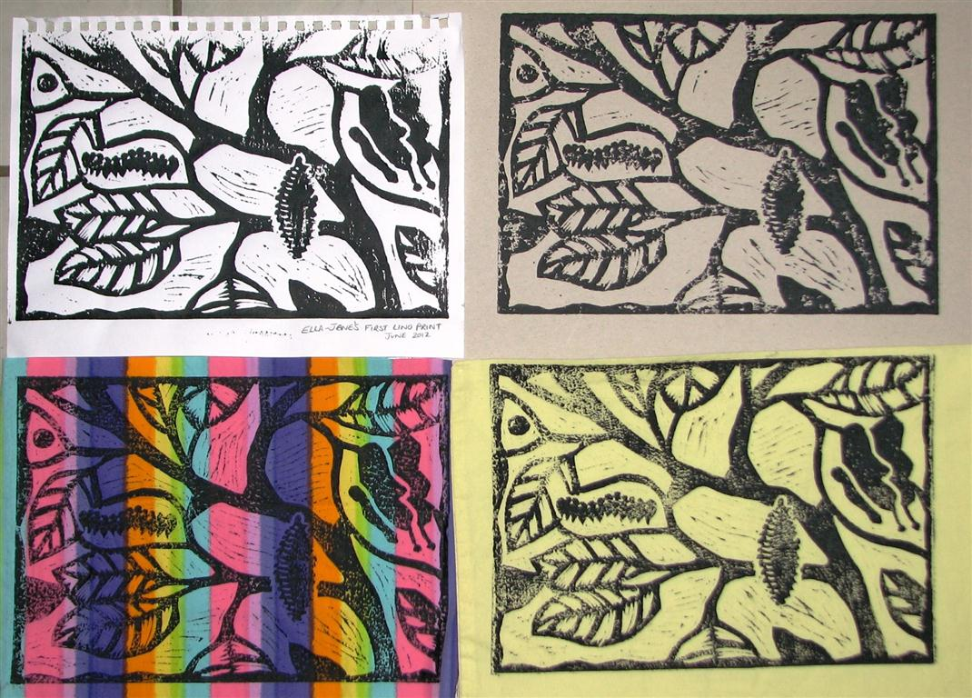 Arty Crafty Studio Lino Printing With Kids