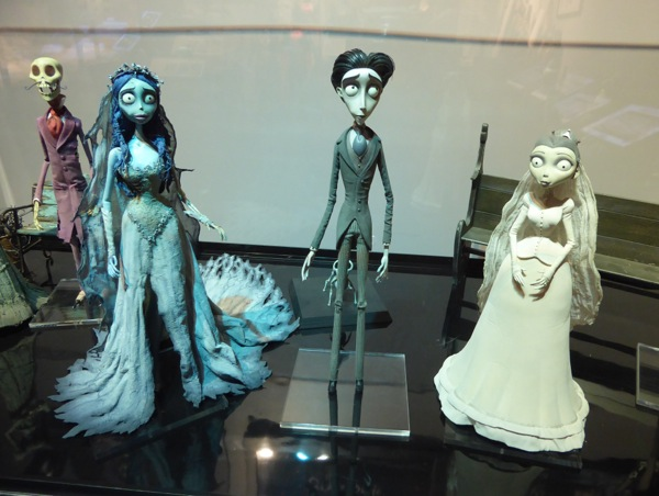 Corpse Bride stop-motion animation puppets