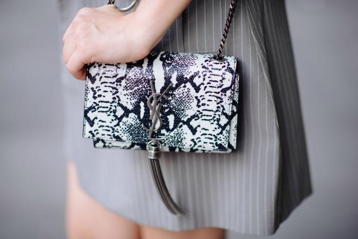 ysl snakeskin bag