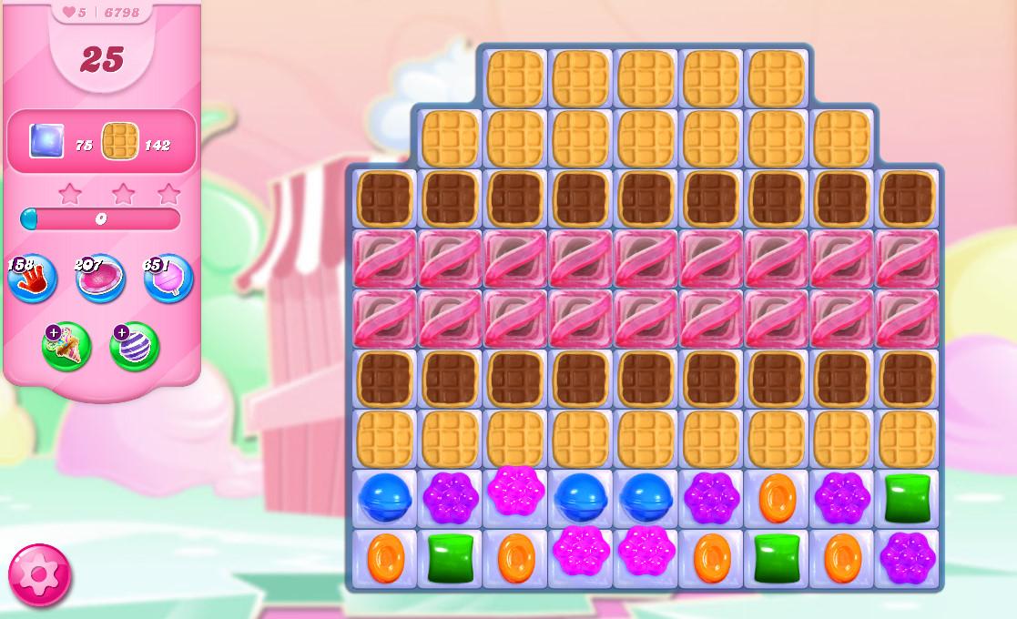 Candy Crush Saga level 6798