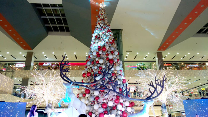SM Lanang Premier Grand Christmas Tree