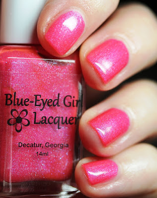 Blue-Eyed Girl Lacquer BEGL Broke Away from the Atmosphere