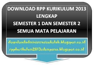RPP IPA Kelas 8 Kurikulum 2013 Semester 1 dan 2