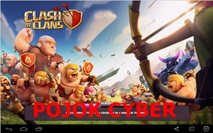 Tampilan loading awal game Clash of Clans v7.65.5