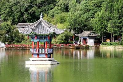 สระมังกรดำ (Black Dragon Pool: 黑龙潭) @ www.kuaibao.qq.com