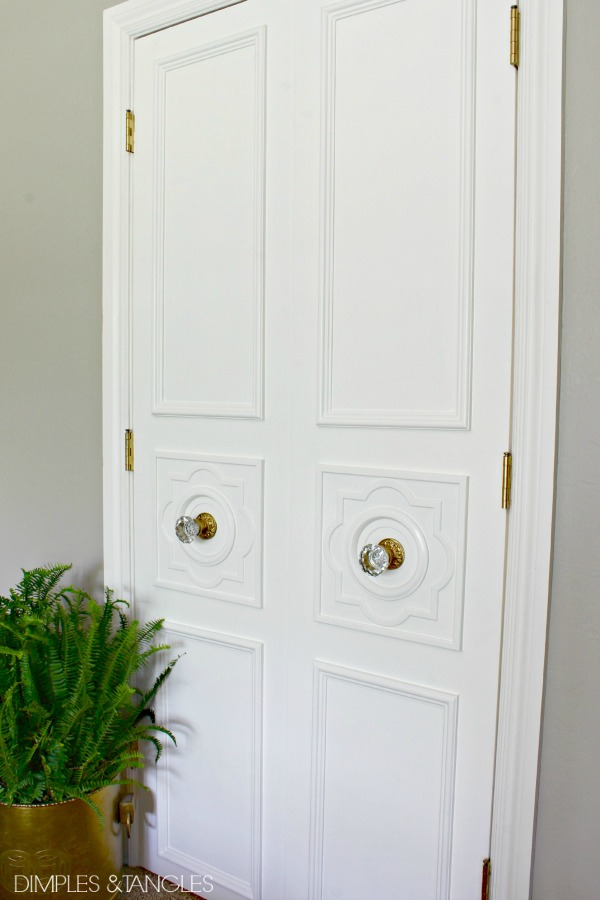 How To Add Simple Moulding To A Door Dimples And Tangles
