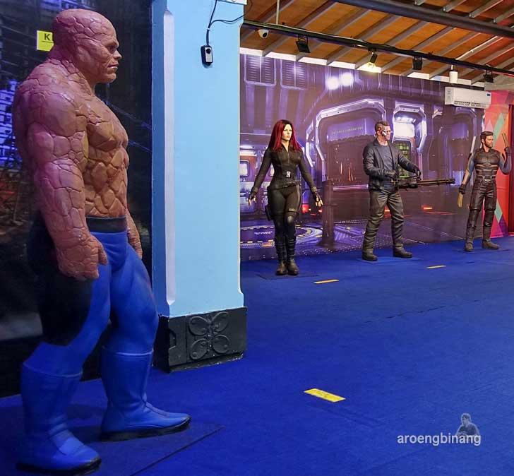 The Thing de arca statue art museum yogyakarta
