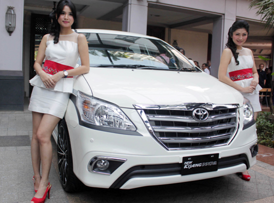 New Toyota Innova Diesel and Gasoline