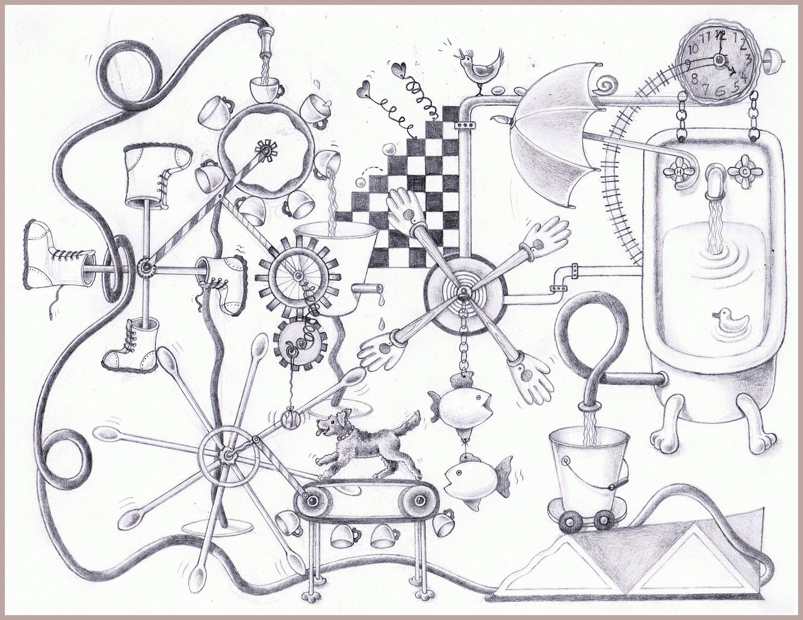 WORDKEEPERS: Day 152 ~ Create a Rube Goldberg machine.