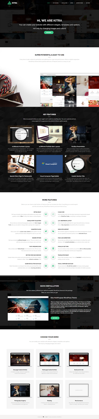 best Multipurpose Responsive WordPress Theme