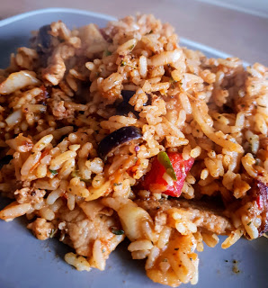greek rice chicken recipe