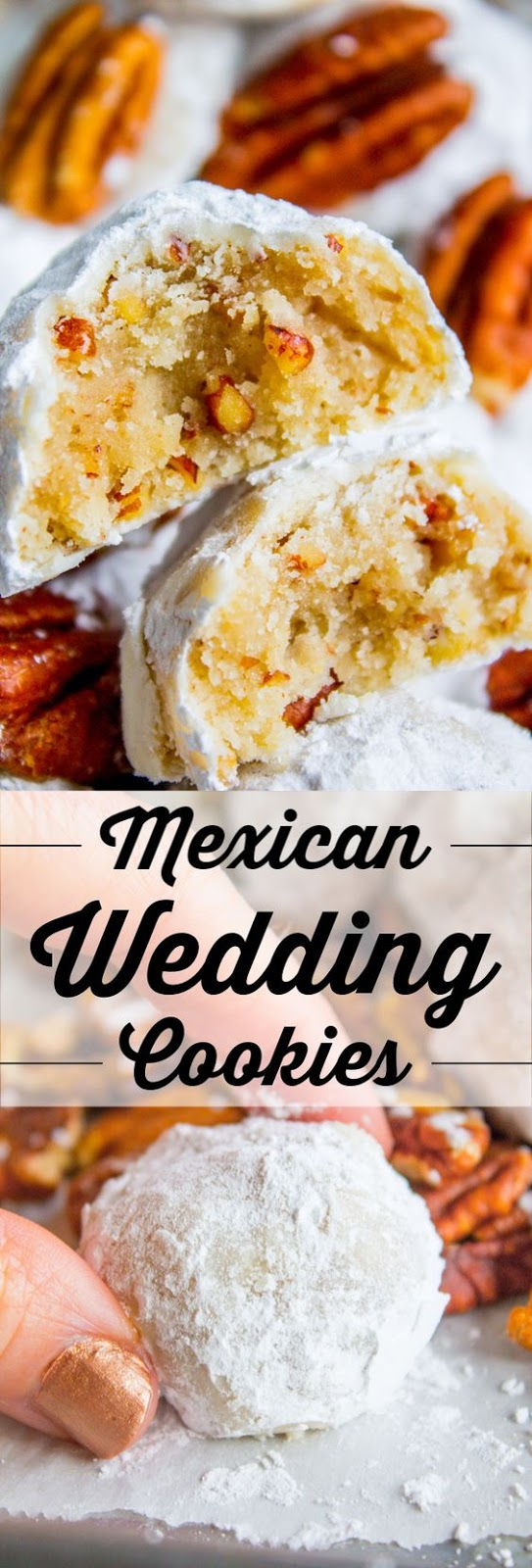 Mexican Wedding Cookies (Russian Tea Cakes)