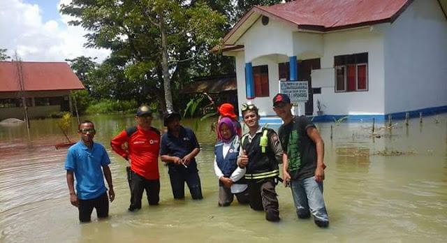 Tanggul Sungai Rongkong Jebol, Puluhan Rumah Warga Malangke Terendam Lagi