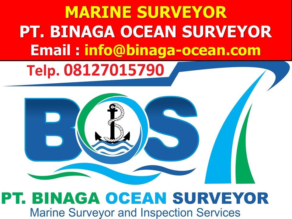 PT  Binaga Ocean Surveyor (BOS) Marine Surveyor Independen