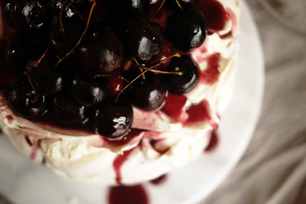 Barely-There-Beauty-Blog-Cherry-Mascarpone-Pavlova-Recipe