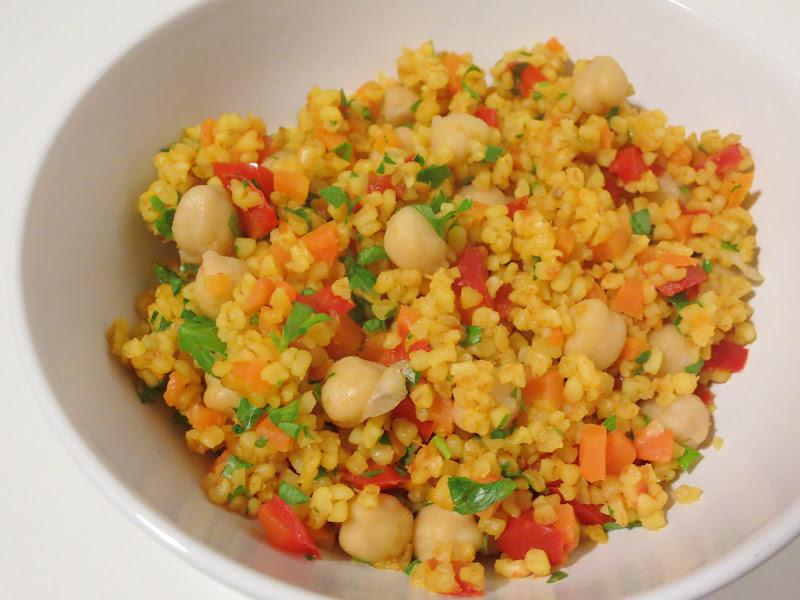 Salada de Bulgur