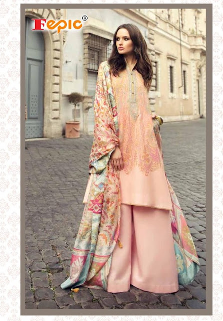 Fepic Rosemeen texture Pakistani Suits Summer Collection