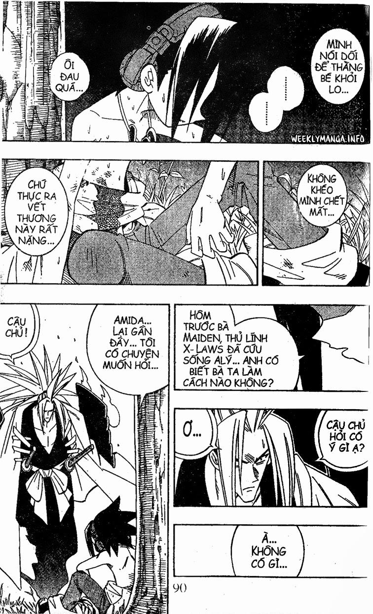 Shaman King [Vua pháp thuật] chap 195 trang 13