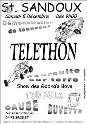 Téléthon 2012, Saint Sandoux
