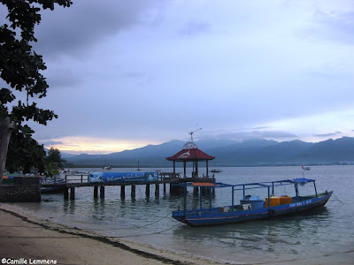 Gili Air harbor