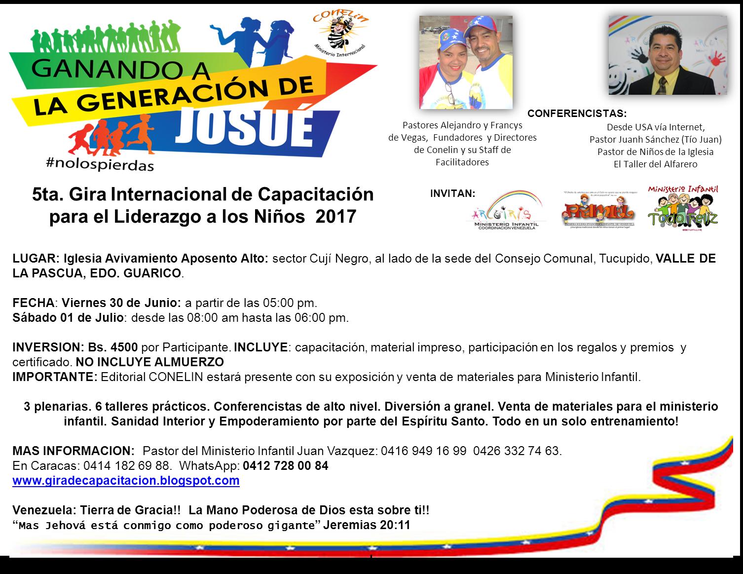 Ministerio internacional conelin de venezuela for Ministerio de inter