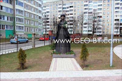 Минск. Памятник Блаженной Слуцкой княгине Софии Юрьевне Олелько