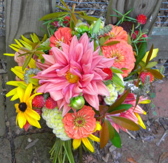 Summer Wedding Flowers: Wedding Flowers From Springwell: Late Summer Bouquet From