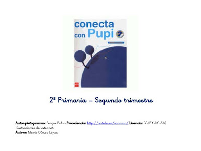 Segundo de primaria: segundo trimestre, por María Olmos
